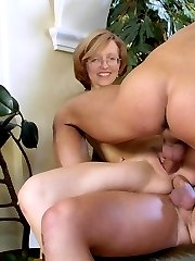 It will be her first experience of anal fuck. Today, she will try to have sex with three men....