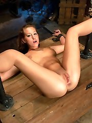19 year old Lizzy London is new to kinky sex and excited about exploring her sexuality. She gets...