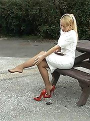 Larissa has been stimulating men at this site in their fetish for nearly five years with her...