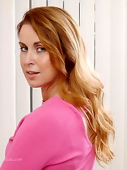Lovely Milf Alison has her panties, thighs and nylon encased legs on show for you, and of course...