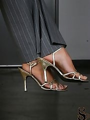Summer shows you her beautiful feet. She describes to you in detail all about her feet- how they...