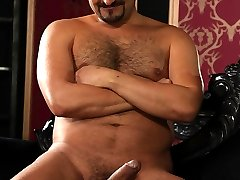 """Ben Statham loves big dick. In fact, for him, the he bigger the better. So we called on Tony Greco, who seems to have a permanent erection and measures in at 8"""" of uncut meat. But we also have a brand new stud, horse-hung Black Bull. And don't you that instead of being intimidated by what Black Bull is packing, Ben just spread his hungry hole as wide as he possible so both men could take turns cramming every inch of throbbing dick deep in his hot gut...."""