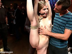 Sensi Pearl is the hot new thing in bondage porn. Tough, flexible, and sexy as hell, she is put...