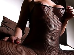 Exotic tgirl Thai toying in a mask