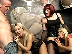 Horny Karla Coxxx in a hot hardcore foursome