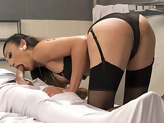 Goddess Venus Lux returns to TS Seduction and she is more powerful than ever with her gorgeous looks, powerful domination and hard pounding cock!