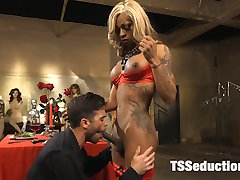 Department store custodian Lance Hart has fallen for a beautiful woman. A woman no one else knows exists. Salina Samone makes her stunning debut in this parody of an 80's classic movie. This update includes wet foot, toe, and leg worship, blowjob, and lots of hard fucking by this gorgeous TS newcomer. Could a fantasy this perfect ever be real? Happy Valentine's Day everyone!
