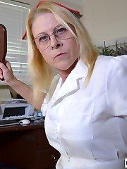 Nurse Spanks Daughters Boyfriend