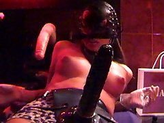 Rigid FORCED Bang-out with ANNA PASSION at THE HAMBURG EROTIC CENTER