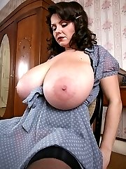 Big tits party lady shots
