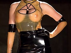 Newcomer Freya French burst out the gates of Electrosluts running she says she likes pain, and...