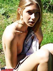 Down blouse hot shots of amateurs