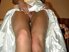 Set of Brides Upskirting Panties Peek