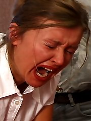 Severe classroom punishments for school girls in tears