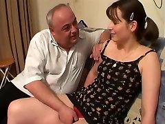 Teen fucked by 3 Old Man