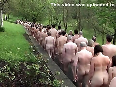 British nudist people in group Two