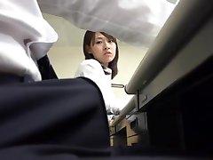 Pantyhose Miniskirt Secretary at Office 3