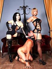 Mistresses Belle Noir and Brianna