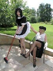 Correcting My Sissy Maid