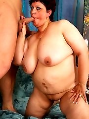 BBW with Big Big Tits gets fucked for our amusement