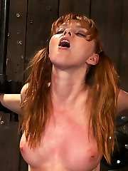 Marie McCray is going to get the fucking of her short life. Helpless, bound in a custom bondage...