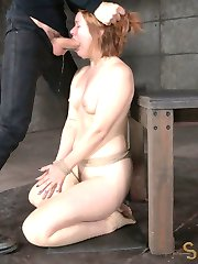 Redheads like it rough. If you dont believe us, look at what it takes to get Claire Robbins off....