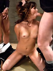 In this fantasy role play update, Alysa plays an innocent tourist who is captured by the...