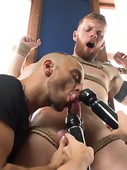 Today for Men on Edge we brought in Cass Bolton for a hot and heavy edging session. Sebastian...