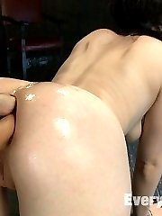Proxy Page and her amazing ass hole give us a very extreme and incredibly sexy scene with...