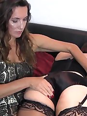 Sometimes Jane has to bend her TGirls over and give them a thorough spanking. They beg and plead...