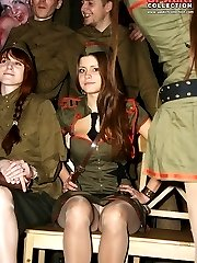 Hotly clothed girls so sexy upskirts