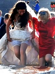 Super hot bride upskirt pictures