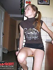 Steamy no panty up skirt compilation
