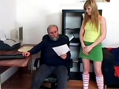 Very old horny dude banging