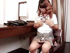 T-girl Nam Delicate Dickgirl Cook Jerking