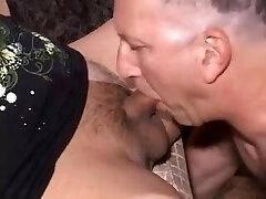 Amateur Tgirl Sylvia and Older Man