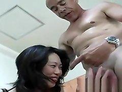 Asian Slut Fujiko Sakura Fucked by HUGE Ebony Cock