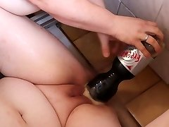 Mentos and Coke in cunt
