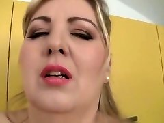 Unbelievable buxomy MILF Mira D attending in unbelievable fellatio porn