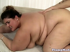 SSBBW babe with bigtits bentover and romped