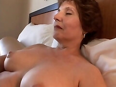 plump elder copulates in hotel room