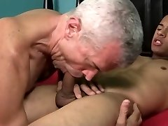 Exotic gay video with Hunk, Father scenes