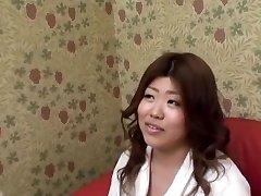 Chunky Asian With Yam-sized Bra-stuffers