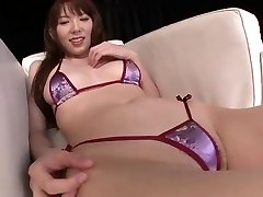 Japanese nubile Hello Mikity sexy beaver play