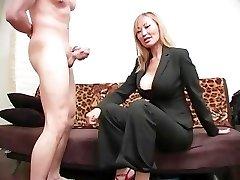 Cruel Femdom Ball Busting 08 - Episode 4