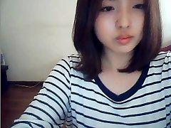 korean dame on webcam