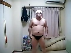 Erotic Horny Asian Male Dancing