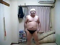 Erotic Horny Asian Male Dancing
