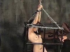 Amazing amateur Fetish, BDSM porn vid