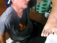 White fellow gets my pinay piss